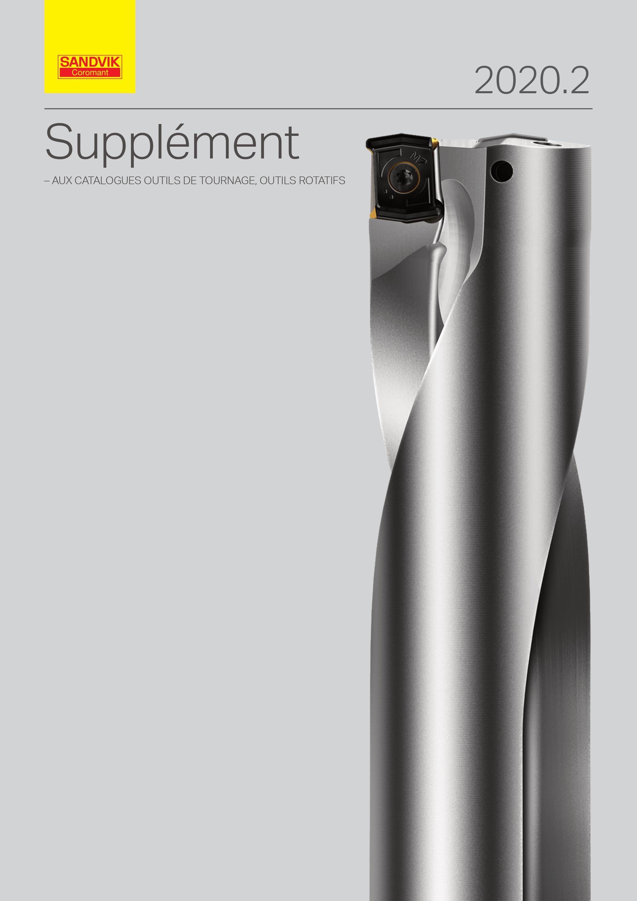 Nouveaux produits - Outils Sandvik Coromant - métaux, outillages, lubrifiant, filtres à air pour le décolletage à Scionzier Haute-Savoie